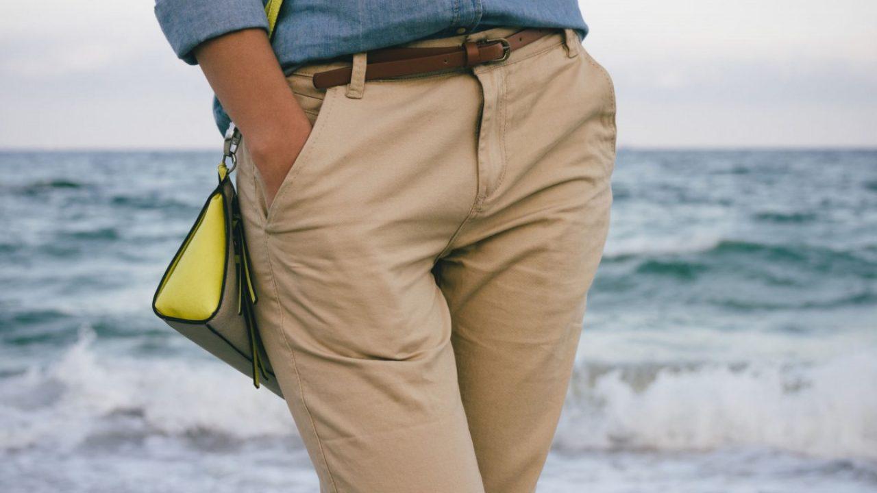Quelle Couleur Se Marie Bien Avec Le Beige que porter avec un pantalon beige ? - le mag conso